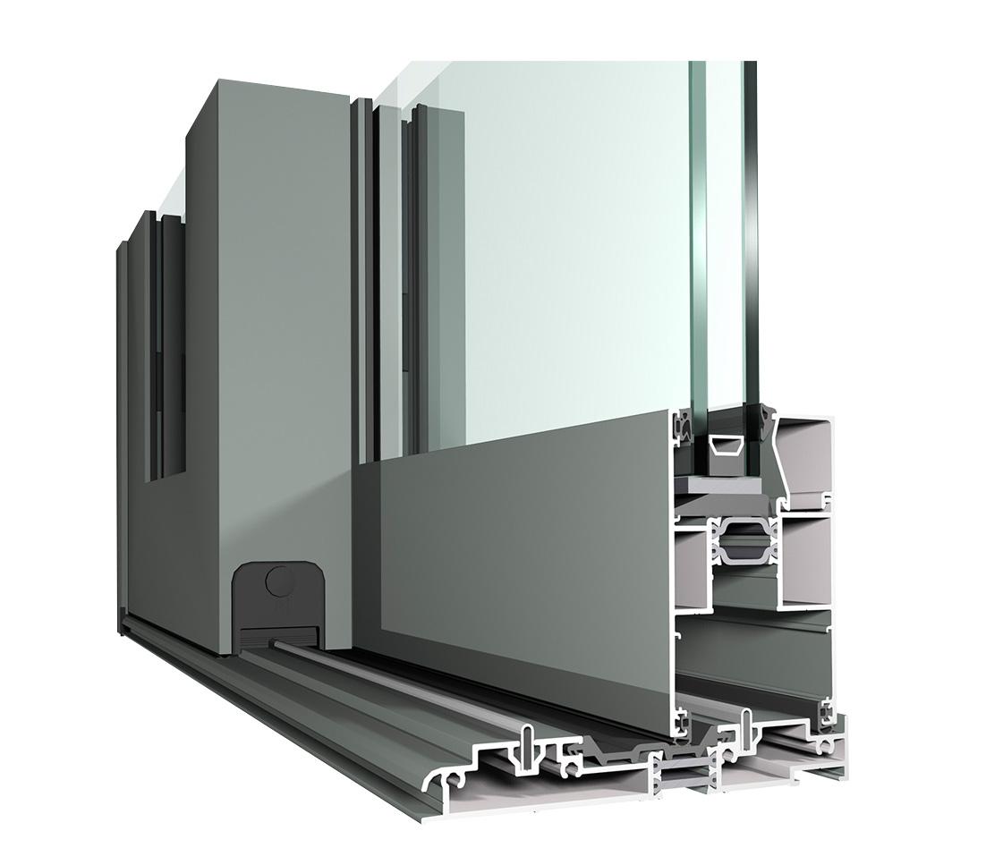 130LS Aluminium detail