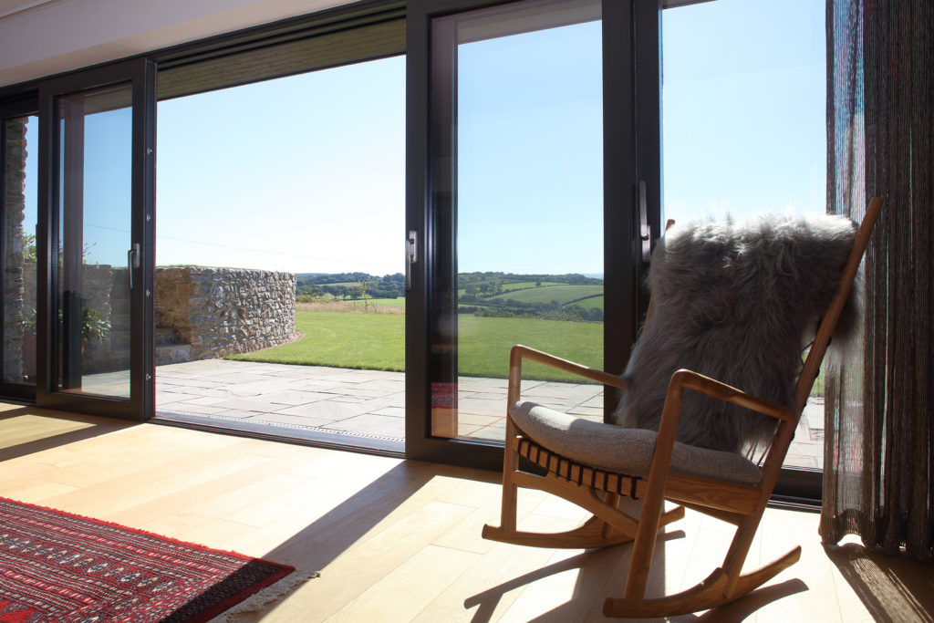 LOWEN HOUSE - Lift and Slide sliding door