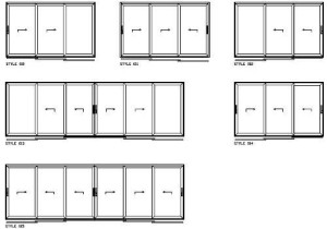 3 Track door options VL